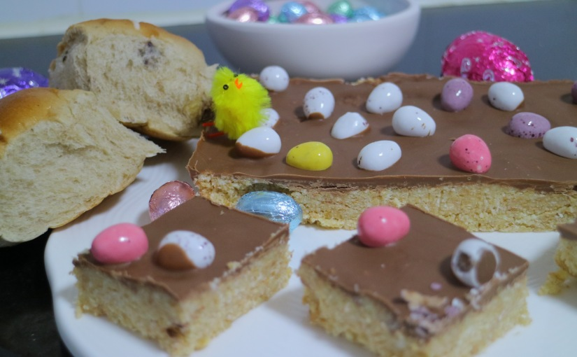 Casual Friday's – Easter 2019 – Easy, No Bake Easter Egg Slice Recipe